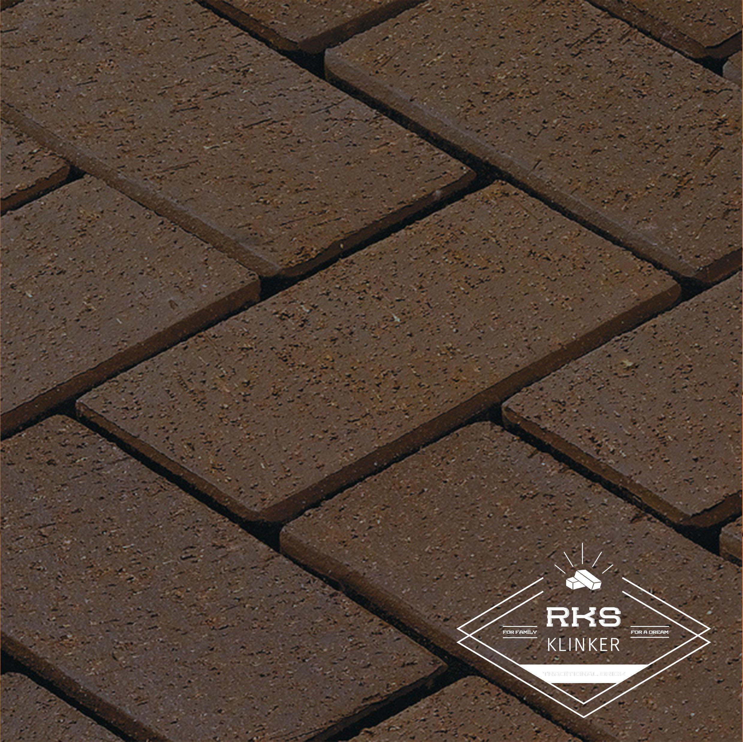 Клинкерная тротуарная плитка LHL, Wega, коричневый в Краснодаре